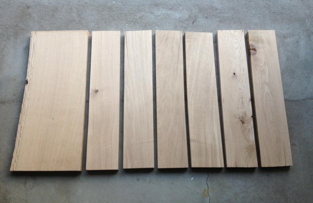Proces planker